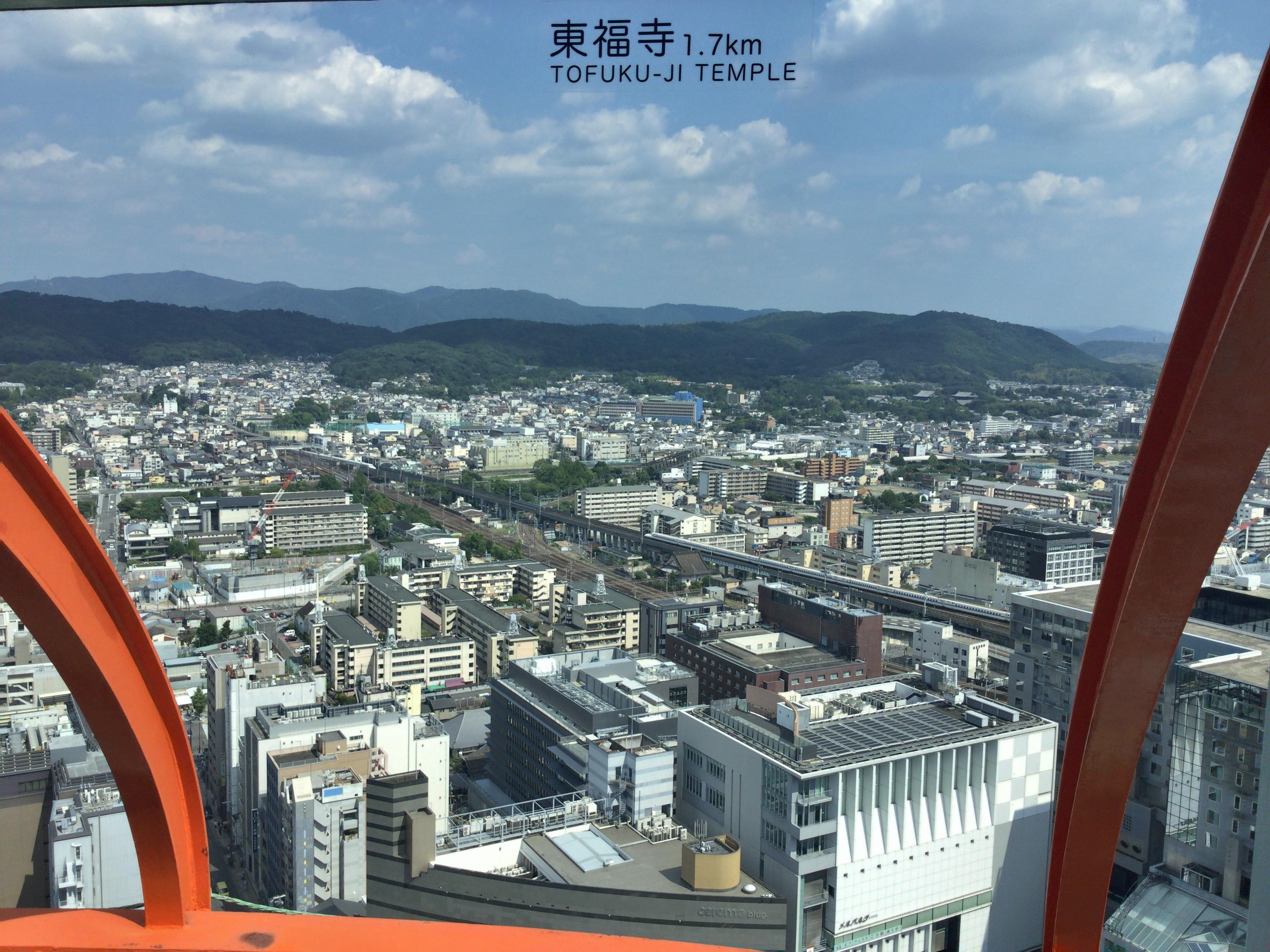 東福寺方面