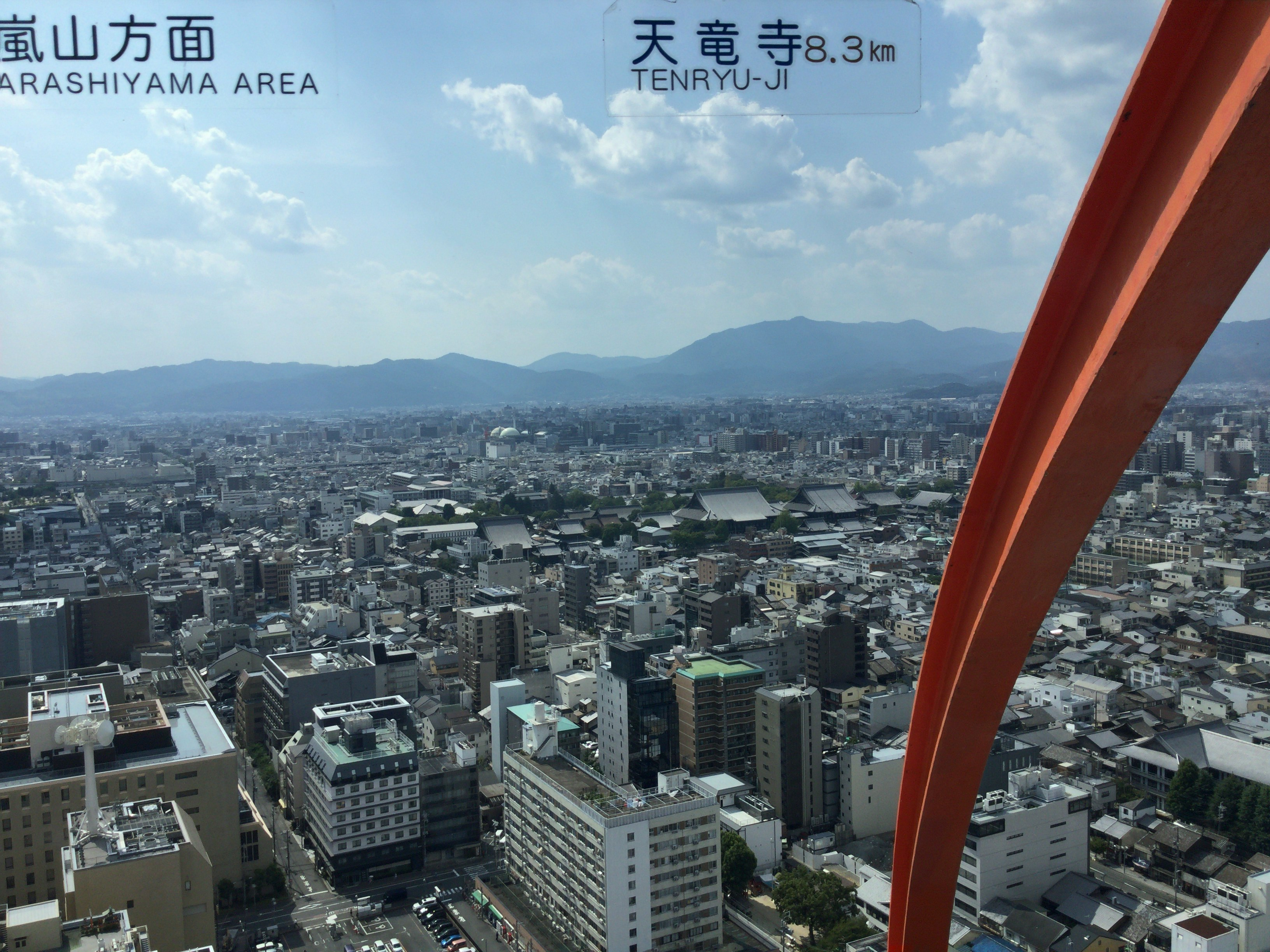 嵐山、天竜寺方面
