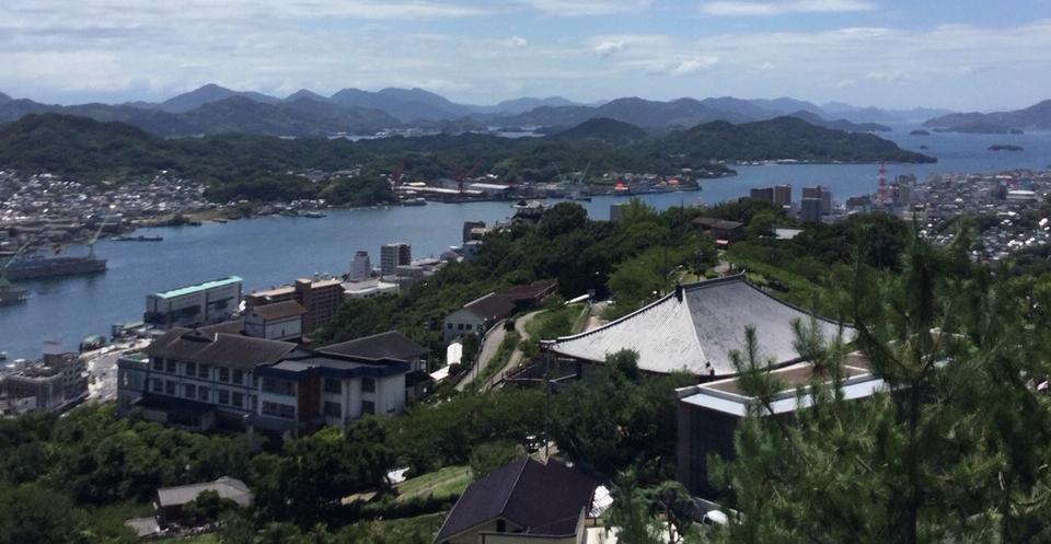 尾道千光寺からの眺望